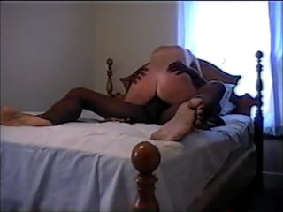 Blonde Wife Riding a BBC
