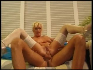 blonde german mature milf lingerie high..