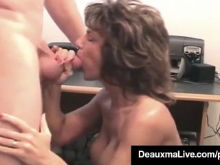 Mature Housewife Deauxma Takes Hubby's..