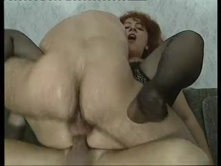 Plump Redhead gets a good fucking