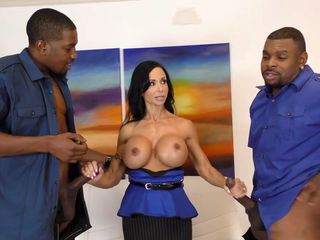 Jewels Jade Loves Anal and DP With Black..