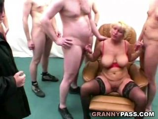 Group Sex And Anal With Granny And Her..