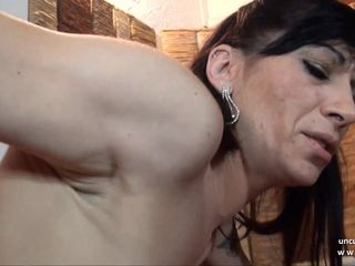 Horny french mature analyzed n..