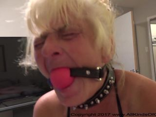 Poor Little Anal Granny Gets Used And..