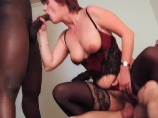 French matures in stockings interracial..