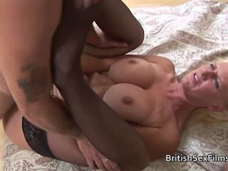British slut loves double penetration..