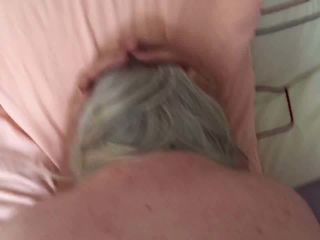 Dirty granny taking it up the arse