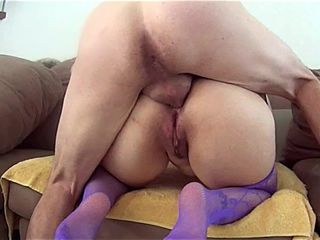 Latina Anal With Socks