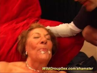 my moms first gangbang