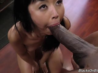Asian mom Marica Hase takes BBC in all..