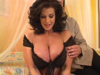 MILF slut fucked hard in all holes