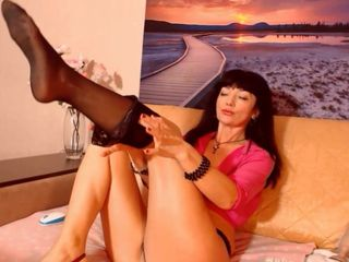Mature European Web Model MARY LADY