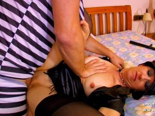 Squirt french mature hard sodomized and..