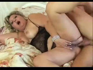 Horny chubby mature loves her ass fucked