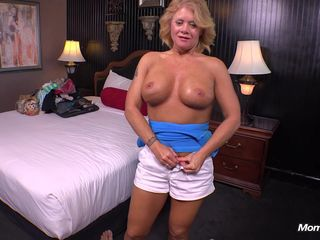 Country MILF loves young cock..