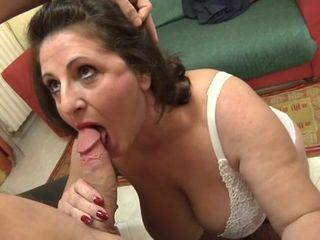 Italian mature fucked can