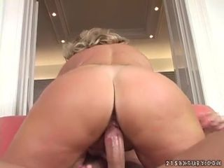 Lucky young man fucking a hot blonde..
