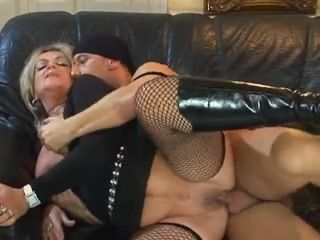 Blonde granny whore prefers fucking and..