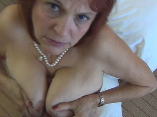 Fucking a GILF slut in every hole