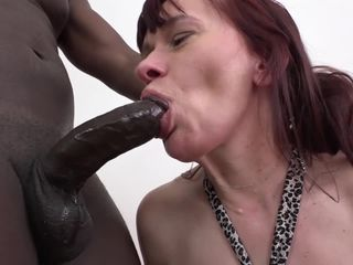 Granny mouth fuck deepthroat blowjob..