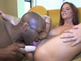 Hot Milf Syren De Mer 's Ass Eating A BBC