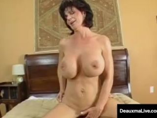Mature Milf, Deauxma, Has Boy Toy Over..