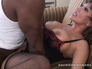 BACKSIDE Ava Devine gets is extremely..