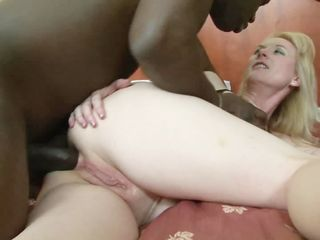 Hot MILF banged by black guy!