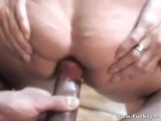 Filthy Mature Anal Whore Takes Cock In..