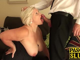lacey starr gets her granny ass fucked..