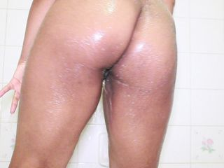 ASS WORSHIP  SOAPY SHOWER SHOW  NAKED..