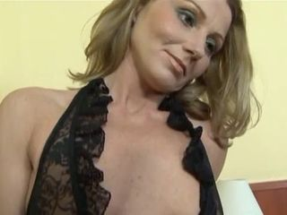 MILF gets anal fuck