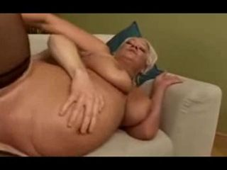 Blond mature loves anal