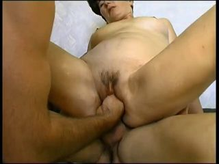 ugly french mature fisted and anally..