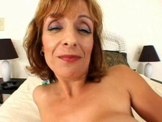 Mature big boob anal slut