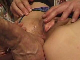 french mature fisted and anally fucked..