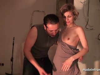 French mom hard anal fucked and..