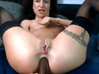 28 Oct 2017 - A huge black dildo in my..