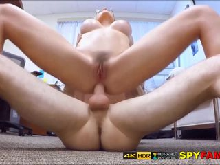 Caught Wanking & Made To Anal Fuck Milf..