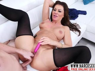 Euro Mommy Gia Giacomo Anal In Stockings..