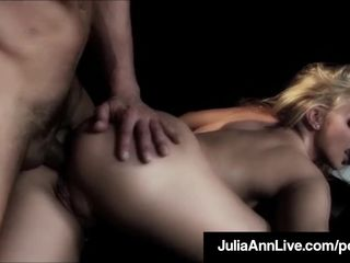 Milf Queen Julia Ann Gets Anal Fucked On..